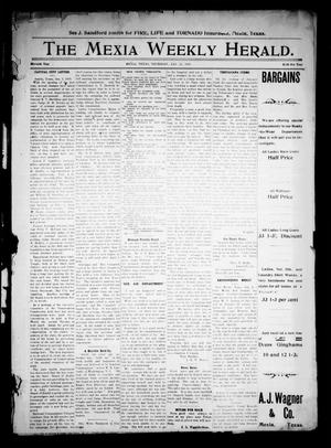 Primary view of object titled 'The Mexia Weekly Herald (Mexia, Tex.), Vol. 11, Ed. 1 Thursday, January 13, 1910'.