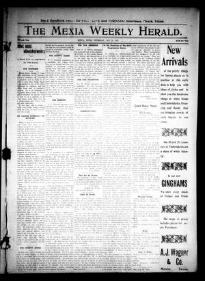 Primary view of object titled 'The Mexia Weekly Herald (Mexia, Tex.), Vol. 11, Ed. 1 Thursday, January 27, 1910'.
