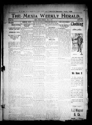 Primary view of object titled 'The Mexia Weekly Herald (Mexia, Tex.), Vol. 11, Ed. 1 Thursday, February 17, 1910'.