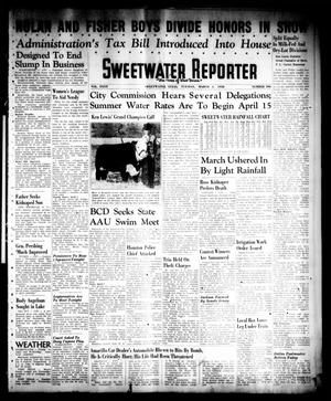 Primary view of object titled 'Sweetwater Reporter (Sweetwater, Tex.), Vol. 40, No. 306, Ed. 1 Tuesday, March 1, 1938'.
