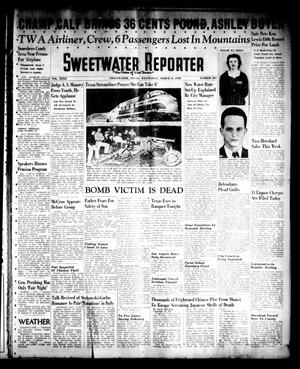 Sweetwater Reporter (Sweetwater, Tex.), Vol. 40, No. 307, Ed. 1 Wednesday, March 2, 1938