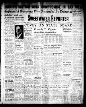 Sweetwater Reporter (Sweetwater, Tex.), Vol. 40, No. 312, Ed. 1 Tuesday, March 8, 1938
