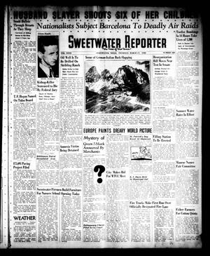 Primary view of object titled 'Sweetwater Reporter (Sweetwater, Tex.), Vol. 40, No. 320, Ed. 1 Thursday, March 17, 1938'.