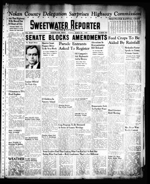Primary view of object titled 'Sweetwater Reporter (Sweetwater, Tex.), Vol. 40, No. 323, Ed. 1 Tuesday, March 22, 1938'.
