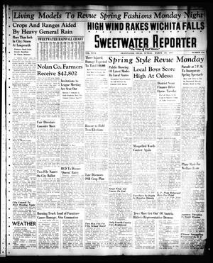 Primary view of object titled 'Sweetwater Reporter (Sweetwater, Tex.), Vol. 40, No. 310, Ed. 1 Sunday, March 27, 1938'.