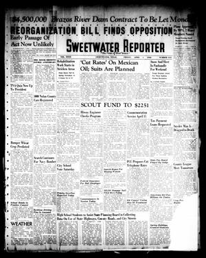 Primary view of object titled 'Sweetwater Reporter (Sweetwater, Tex.), Vol. 40, No. 314, Ed. 1 Friday, April 1, 1938'.