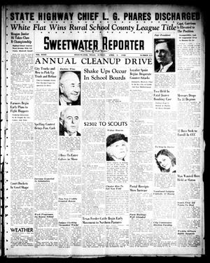 Primary view of object titled 'Sweetwater Reporter (Sweetwater, Tex.), Vol. 40, No. 315, Ed. 1 Sunday, April 3, 1938'.