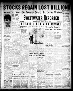 Primary view of object titled 'Sweetwater Reporter (Sweetwater, Tex.), Vol. 40, No. 320, Ed. 1 Sunday, April 10, 1938'.