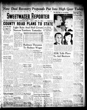 Primary view of object titled 'Sweetwater Reporter (Sweetwater, Tex.), Vol. 40, No. 323, Ed. 1 Friday, April 15, 1938'.