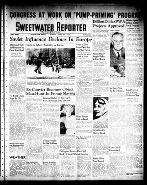 Primary view of object titled 'Sweetwater Reporter (Sweetwater, Tex.), Vol. 40, No. 326, Ed. 1 Tuesday, April 19, 1938'.