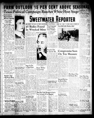 Primary view of object titled 'Sweetwater Reporter (Sweetwater, Tex.), Vol. 40, No. 329, Ed. 1 Sunday, April 24, 1938'.