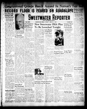 Primary view of object titled 'Sweetwater Reporter (Sweetwater, Tex.), Vol. 40, No. 331, Ed. 1 Tuesday, April 26, 1938'.
