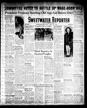Primary view of object titled 'Sweetwater Reporter (Sweetwater, Tex.), Vol. 40, No. 334, Ed. 1 Friday, April 29, 1938'.