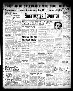 Primary view of object titled 'Sweetwater Reporter (Sweetwater, Tex.), Vol. 40, No. 335, Ed. 1 Sunday, May 1, 1938'.