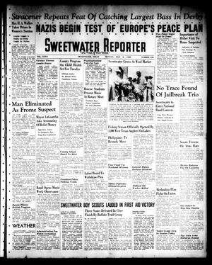 Sweetwater Reporter (Sweetwater, Tex.), Vol. 40, No. 336, Ed. 1 Monday, May 2, 1938