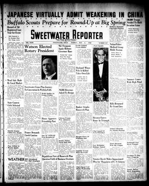 Primary view of object titled 'Sweetwater Reporter (Sweetwater, Tex.), Vol. 40, No. 337, Ed. 1 Tuesday, May 3, 1938'.