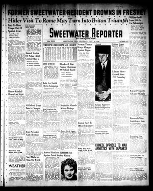 Primary view of object titled 'Sweetwater Reporter (Sweetwater, Tex.), Vol. 40, No. 337, Ed. 1 Wednesday, May 4, 1938'.