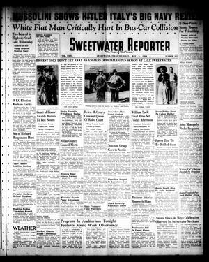 Primary view of object titled 'Sweetwater Reporter (Sweetwater, Tex.), Vol. 40, No. 337, Ed. 1 Thursday, May 5, 1938'.
