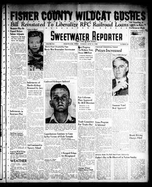 Sweetwater Reporter (Sweetwater, Tex.), Vol. 41, No. 62, Ed. 1 Tuesday, June 14, 1938