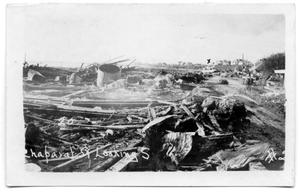 Primary view of object titled '[Debris after the hurricane]'.