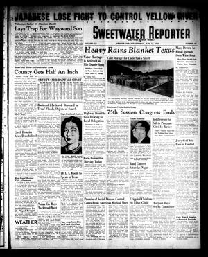 Primary view of object titled 'Sweetwater Reporter (Sweetwater, Tex.), Vol. 41, No. 65, Ed. 1 Friday, June 17, 1938'.