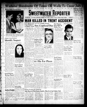Primary view of object titled 'Sweetwater Reporter (Sweetwater, Tex.), Vol. 41, No. 65, Ed. 1 Sunday, June 19, 1938'.