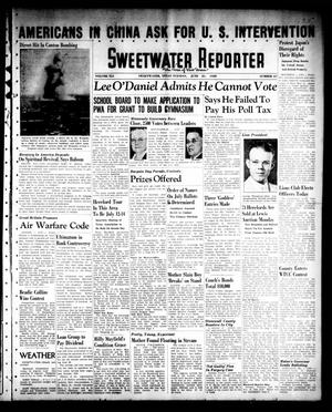 Sweetwater Reporter (Sweetwater, Tex.), Vol. 41, No. 67, Ed. 1 Tuesday, June 21, 1938