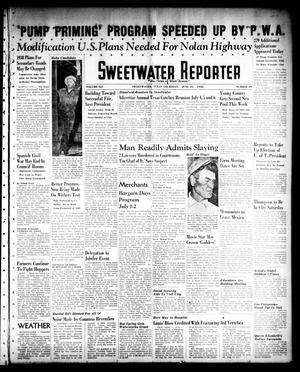 Primary view of object titled 'Sweetwater Reporter (Sweetwater, Tex.), Vol. 41, No. 69, Ed. 1 Thursday, June 23, 1938'.