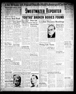 Sweetwater Reporter (Sweetwater, Tex.), Vol. 41, No. 71, Ed. 1 Sunday, June 26, 1938