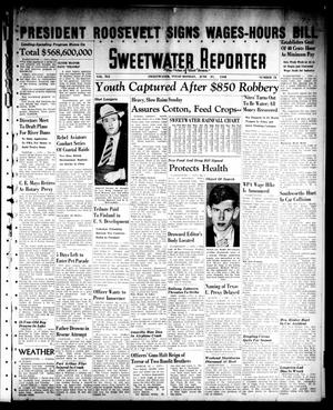 Primary view of object titled 'Sweetwater Reporter (Sweetwater, Tex.), Vol. 41, No. 72, Ed. 1 Monday, June 27, 1938'.