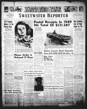Primary view of object titled 'Sweetwater Reporter (Sweetwater, Tex.), Vol. 53, No. 1, Ed. 1 Sunday, January 1, 1950'.