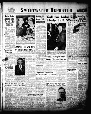 Sweetwater Reporter (Sweetwater, Tex.), Vol. 53, No. 48, Ed. 1 Sunday, February 26, 1950