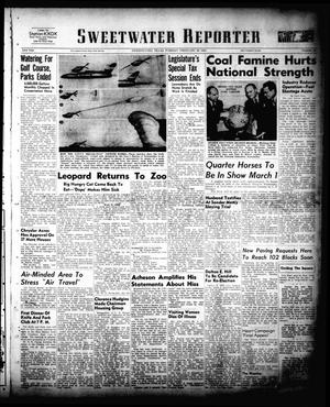 Sweetwater Reporter (Sweetwater, Tex.), Vol. 53, No. 50, Ed. 1 Tuesday, February 28, 1950