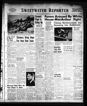 Primary view of object titled 'Sweetwater Reporter (Sweetwater, Tex.), Vol. 54, No. 95, Ed. 1 Sunday, April 22, 1951'.