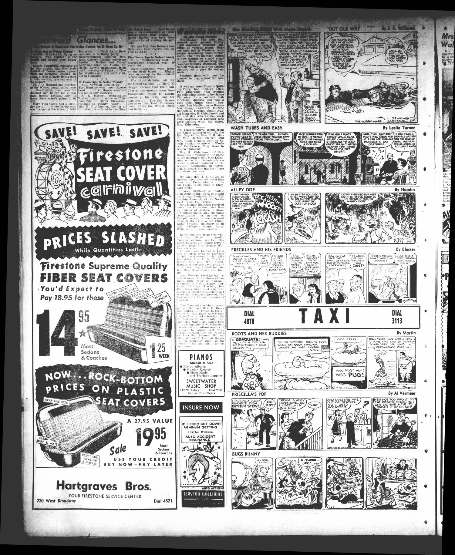Sweetwater Reporter (Sweetwater, Tex ), Vol  54, No  137, Ed  1