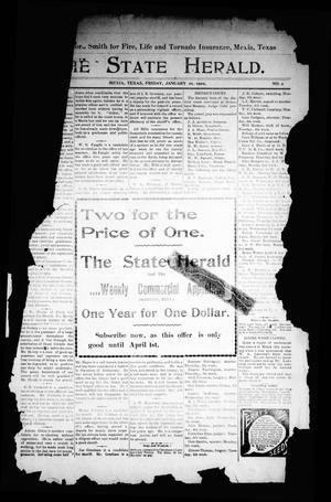 The State Herald (Mexia, Tex.), Vol. [3], No. 2, Ed. 1 Friday, January 10, 1902