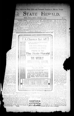 Primary view of object titled 'The State Herald (Mexia, Tex.), Vol. 3, No. [3], Ed. 1 Friday, January 17, 1902'.
