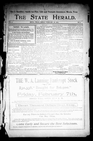 Primary view of The State Herald (Mexia, Tex.), Vol. 3, No. 9, Ed. 1 Friday, February 28, 1902