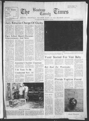 Primary view of object titled 'The Bastrop County Times (Smithville, Tex.), Vol. 84, No. 44, Ed. 1 Thursday, October 30, 1975'.