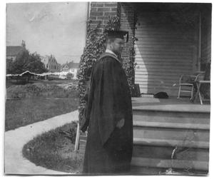 Primary view of object titled '[Thomas McGee Scott's graduation day from Princeton]'.