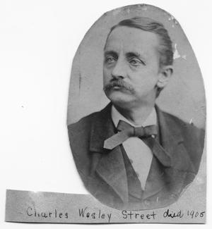 Primary view of object titled '[Charles Wesley Street]'.
