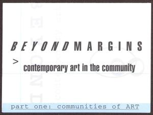 Primary view of object titled '[Card Invitation from San Antonio Museum of Art - 1998]'.
