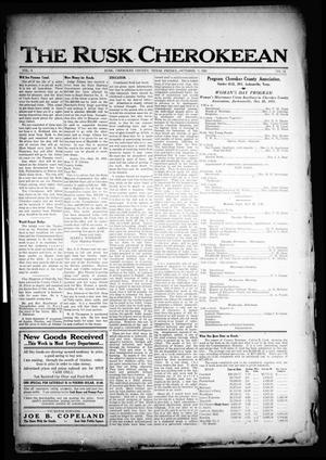 The Rusk Cherokeean (Rusk, Tex.), Vol. 3, No. 14, Ed. 1 Friday, October 7, 1921