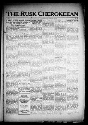 The Rusk Cherokeean (Rusk, Tex.), Vol. 3, No. 32, Ed. 1 Friday, February 10, 1922