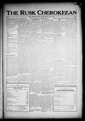 The Rusk Cherokeean (Rusk, Tex.), Vol. 3, No. 45, Ed. 1 Friday, May 12, 1922