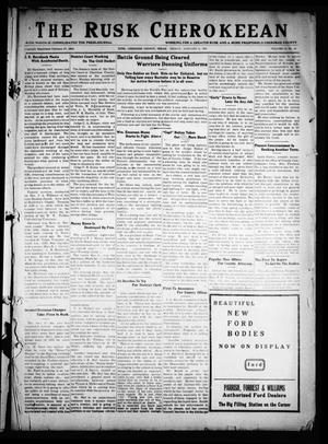 The Rusk Cherokeean (Rusk, Tex.), Vol. 11, No. 31, Ed. 1 Friday, January 10, 1930