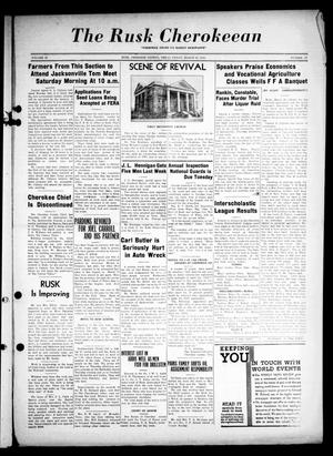 The Rusk Cherokeean (Rusk, Tex.), Vol. 18, No. 37, Ed. 1 Friday, March 29, 1935