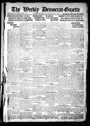 Primary view of object titled 'The Weekly Democrat-Gazette (McKinney, Tex.), Vol. 38, Ed. 1 Thursday, February 17, 1921'.