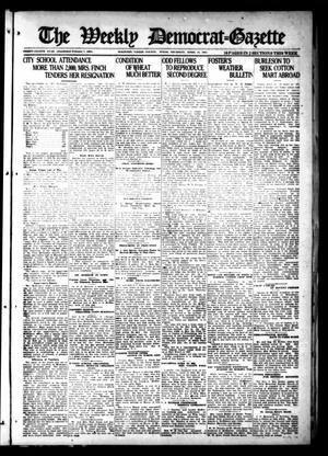 Primary view of object titled 'The Weekly Democrat-Gazette (McKinney, Tex.), Vol. 38, Ed. 1 Thursday, April 14, 1921'.