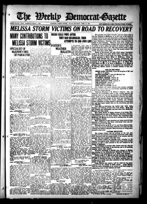 Primary view of object titled 'The Weekly Democrat-Gazette (McKinney, Tex.), Vol. 38, Ed. 1 Thursday, April 21, 1921'.